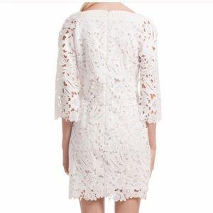 Trina Turk Elm Floral Lace Mini Dress 14 EUC
